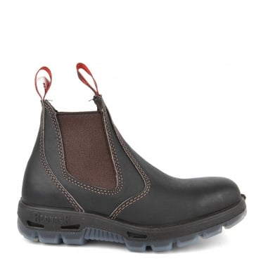 Dark Brown Leather Chelsea Boot