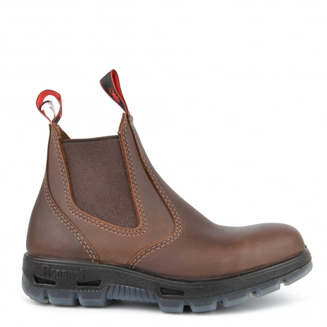 Redback Boots Jarrah Brown Leather Chelsea Boot