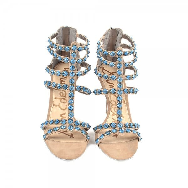d24376a66 Alina Suede Beaded Heeled Sandals