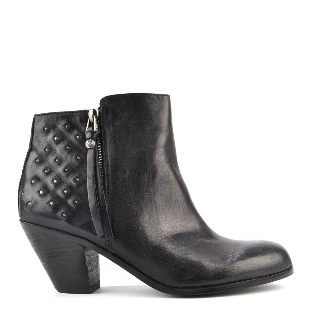 0f1eb591ad1a9a Sam edelman Lucille Black Studded Ankle Boots