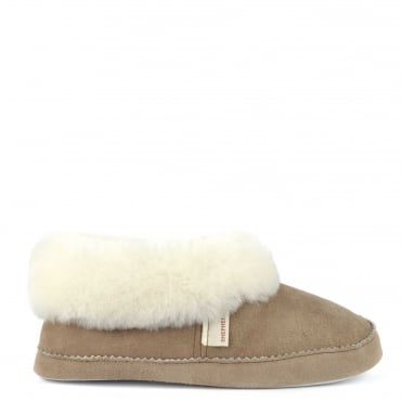 Emmy Stone Sheepskin Slipper Boot