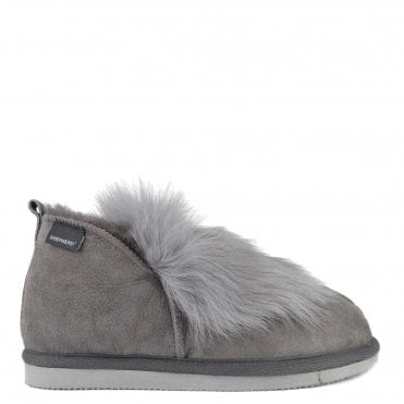 Jolina Asphalt Sheepskin Boot