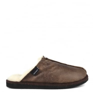 Mens' Hugo Oiled Antique Slipper