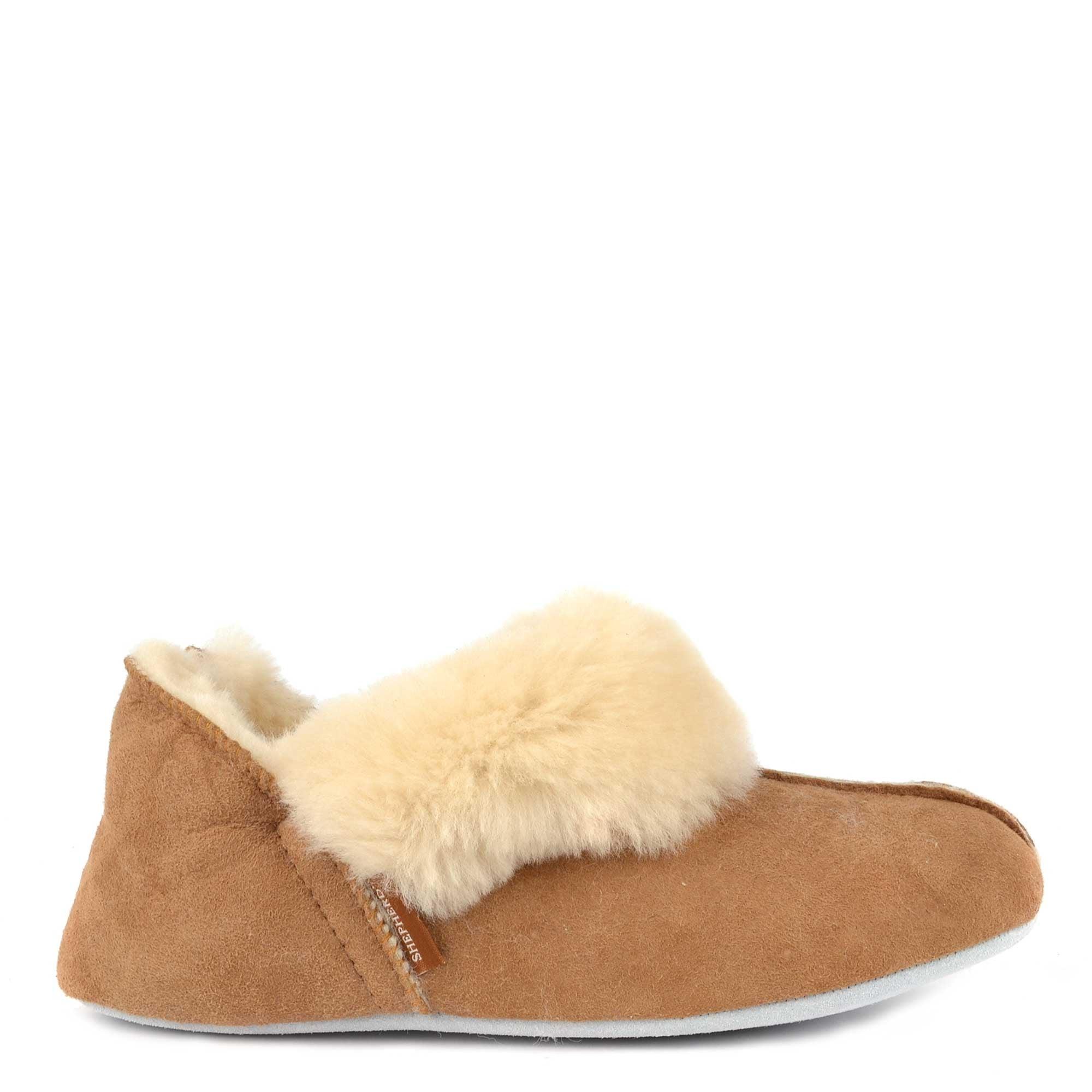 Shepherd of Sweden Nina Stone Sheepskin Slipper Boot