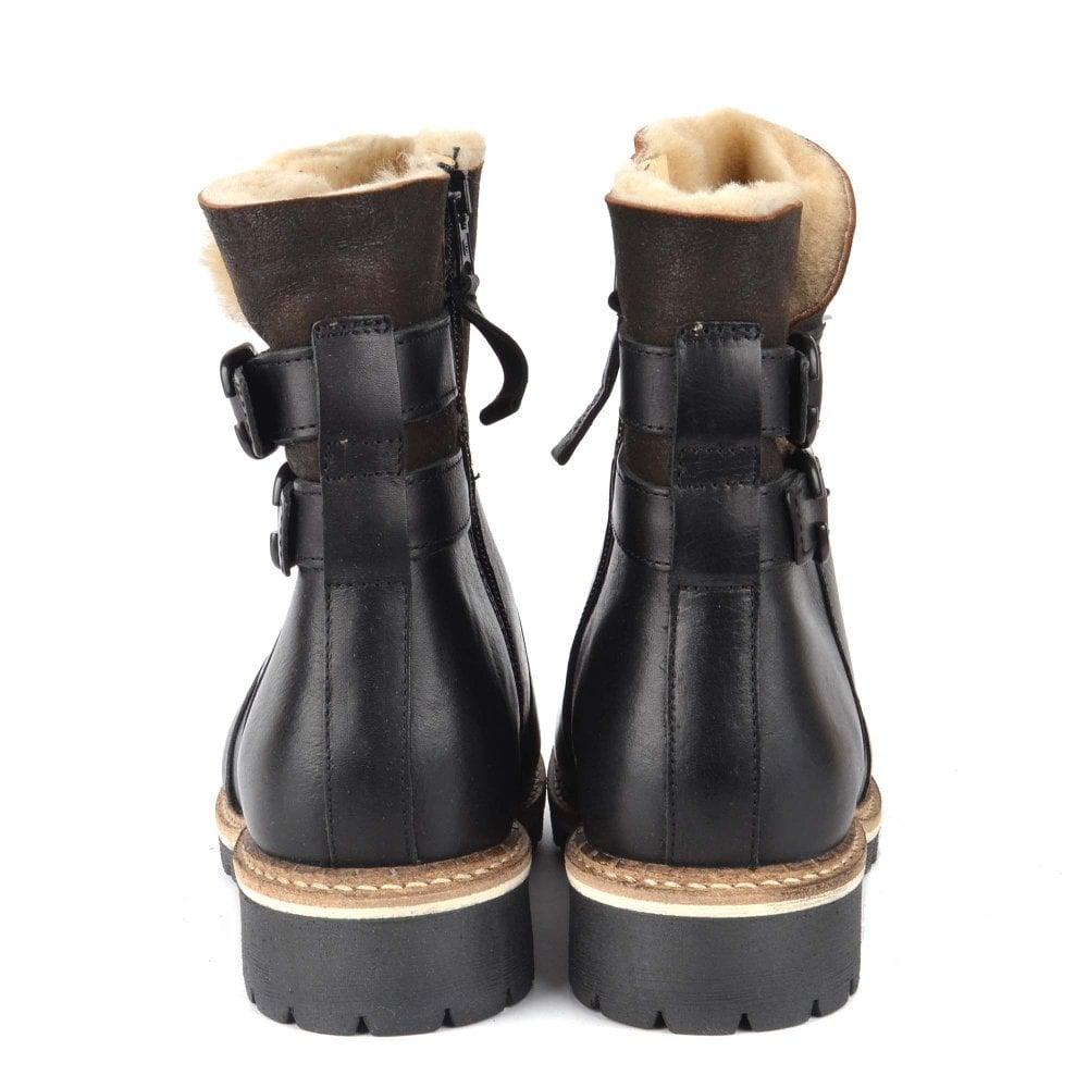 Shepherd of Sweden Smilla Black Leather