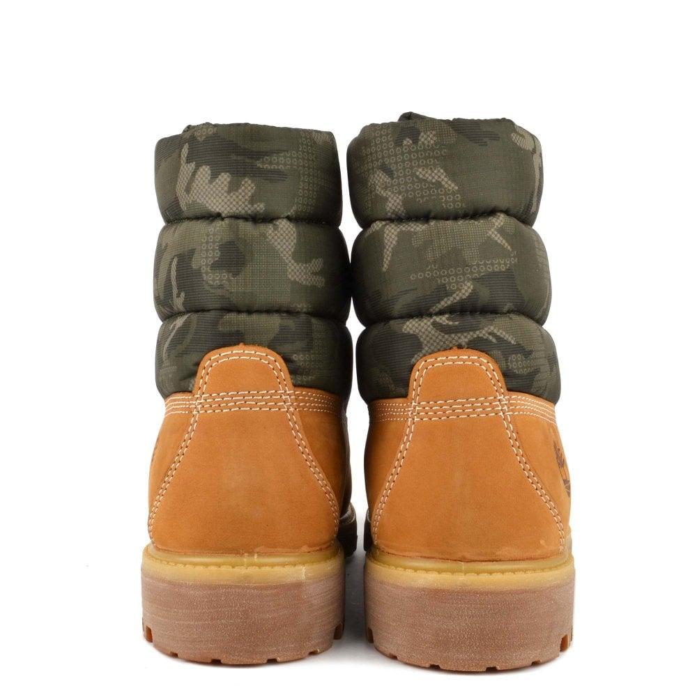 b3fecb6cc7c Men's 6 Inch Premium Puffer Wheat Boot