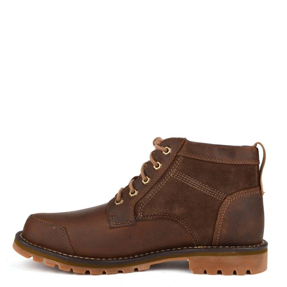 7b04510274ef Timberland Men s Larchmont Saddleback Leather Chukka Boot