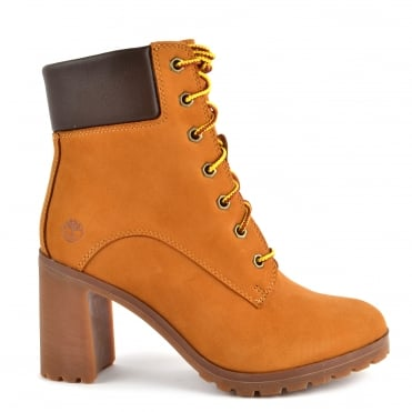 Womens' Allington 6-Inch Wheat Nubuck Boot