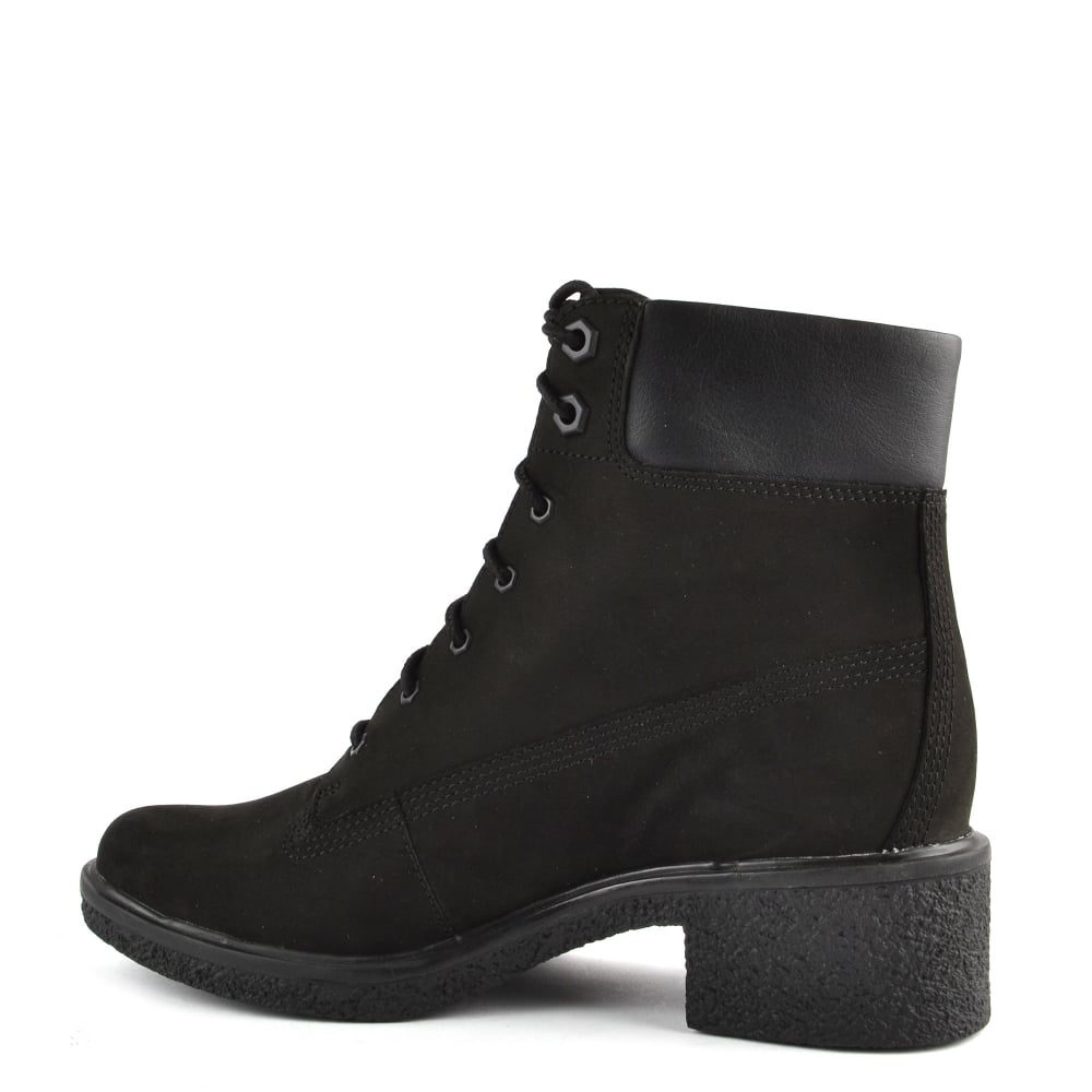 Womens' Brinda 6 Inch Black Lace Up Boot