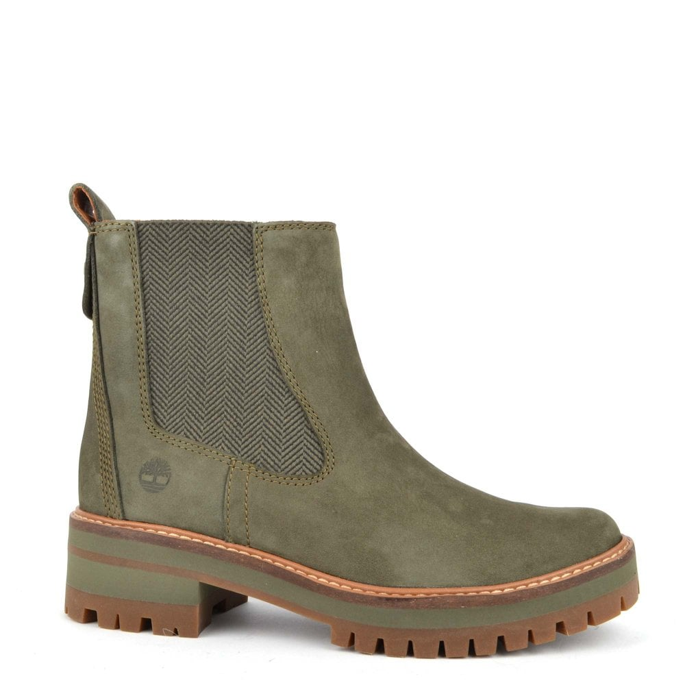 ae3b12eb3c74f Shop Women s Timberland Courmayeur Valley Chelsea Leather Boots