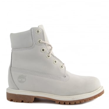 Womens' Icon 6-Inch Light Grey Premium Boot