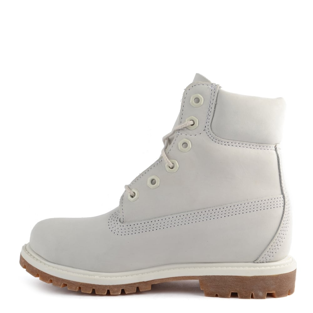 Icon 6 Inch Premium Boot for Women in Pale Grey