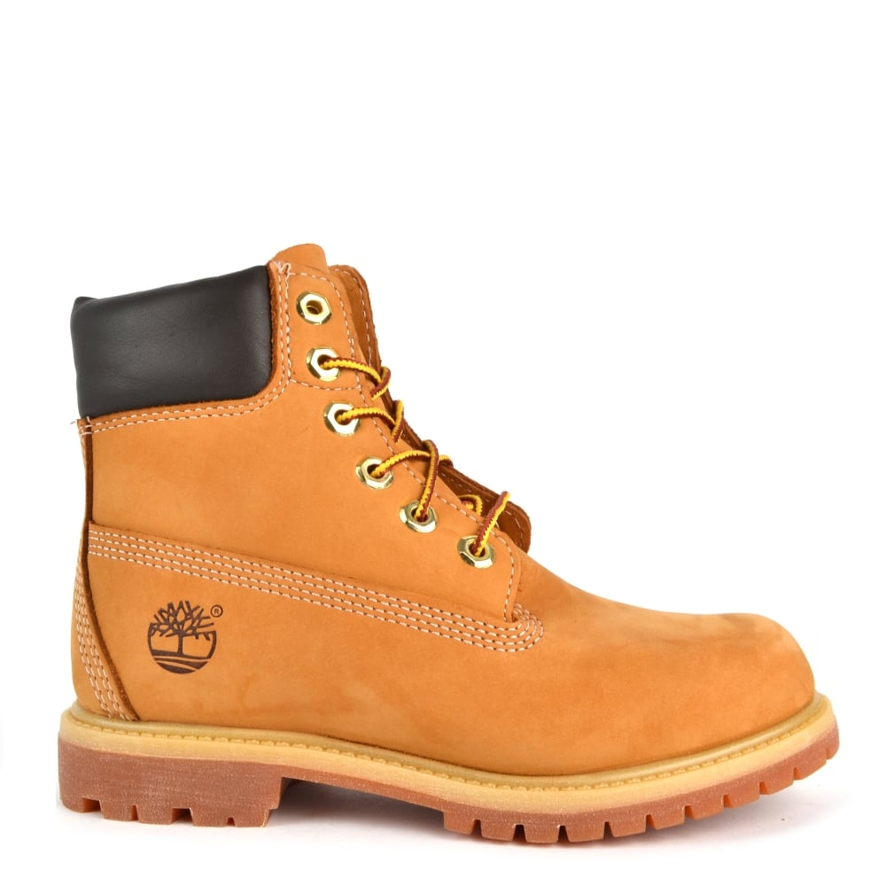 Womens' Icon 6 Inch Wheat Nubuck Premium Boot