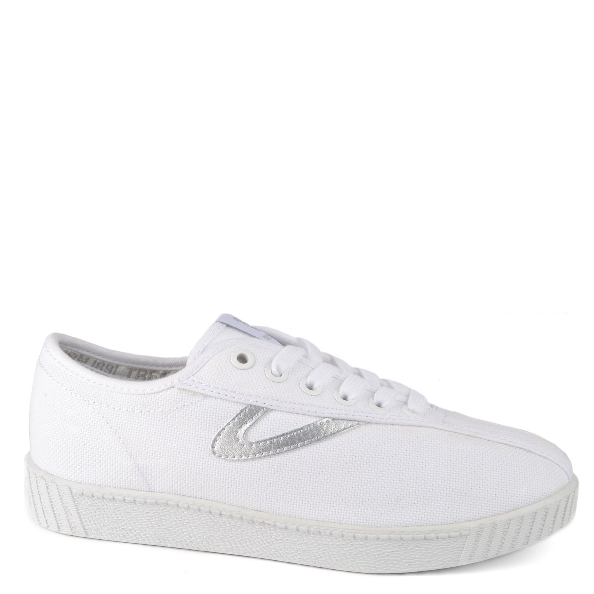 Tretorn Nylite Canvas Trainers in White