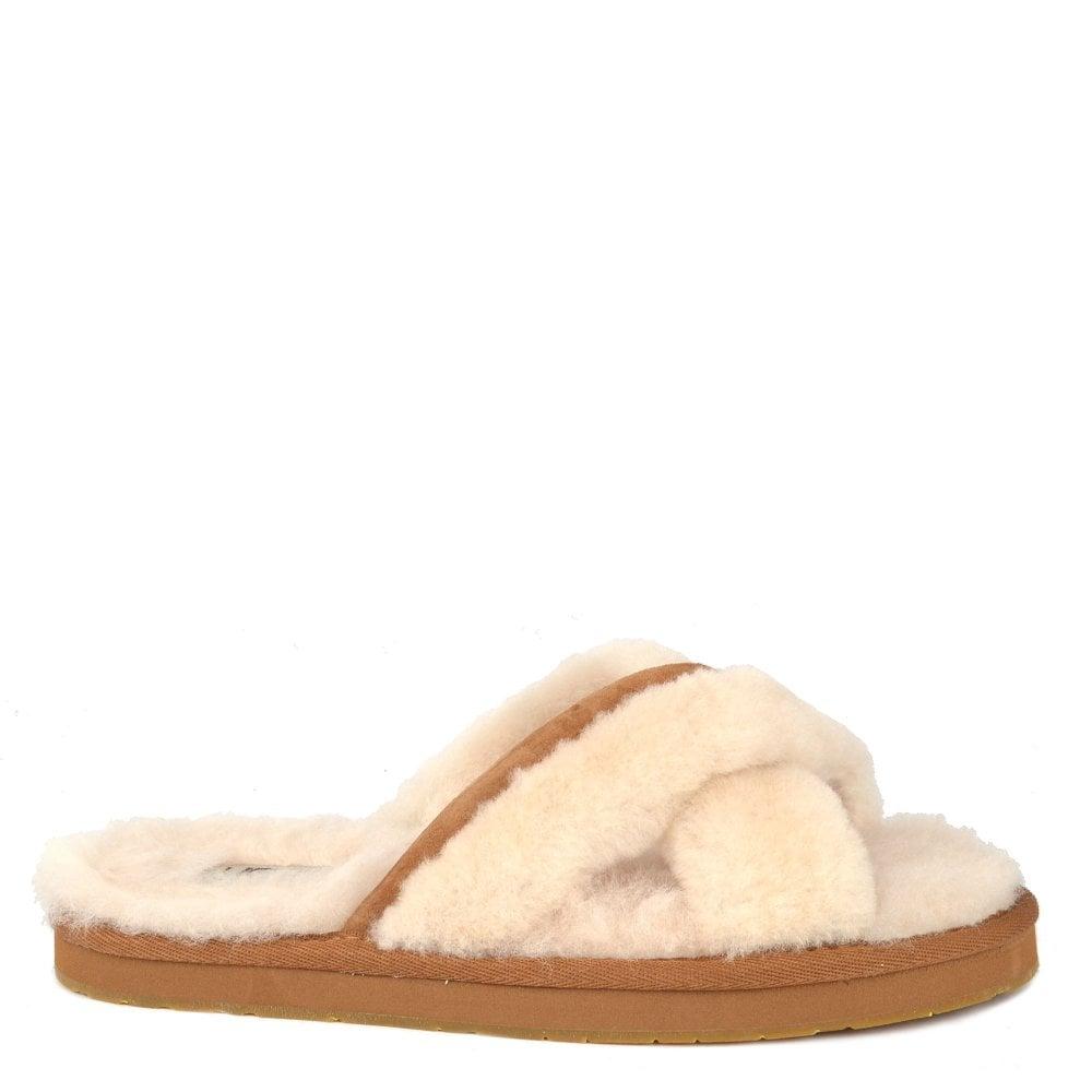 1ba27f8716 UGG Abela Crossover Natural Slipper