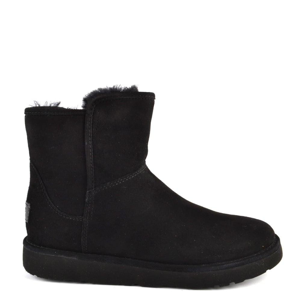ae1c16e9795 Abree Mini Lux Classic Black Suede Boot