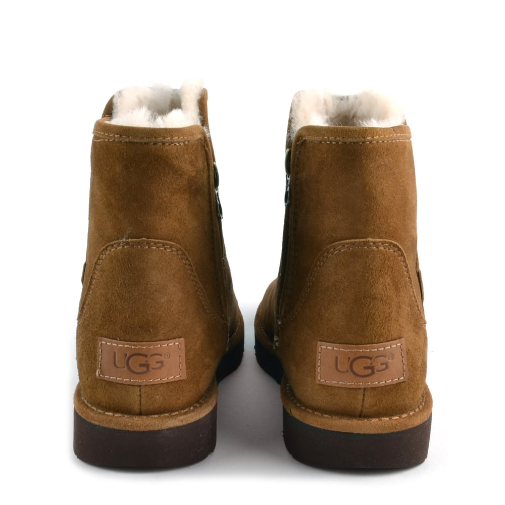 14cc9a3d0d2 UGG Abree Mini Lux Classic Bruno 'Brown' Suede Boot