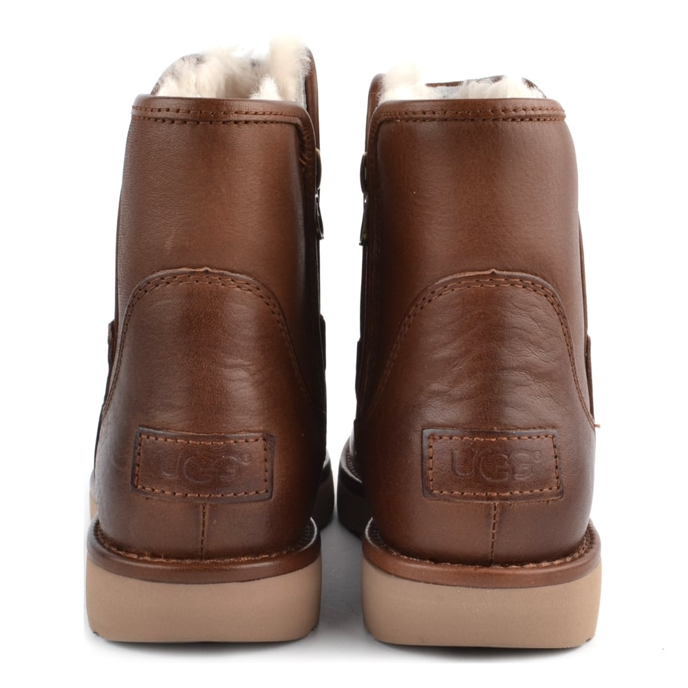 a0c5ed9099f UGG Abree Mini Lux Classic Bruno Leather Boot