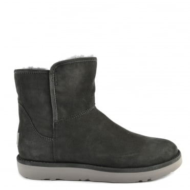Abree Mini Lux Classic Grigio 'Dark Grey' Suede Boot
