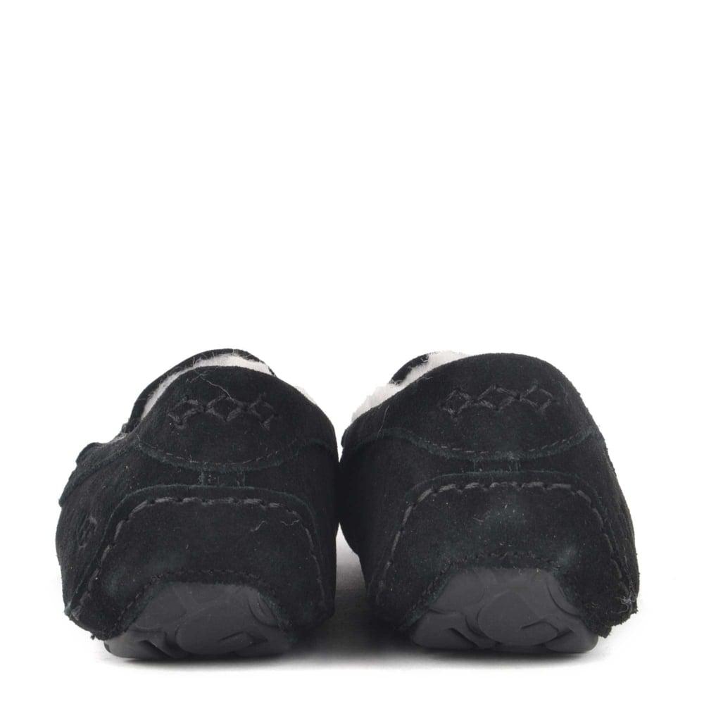 0df858c3de0 UGG Ansley Studded Bling Black Suede Slipper