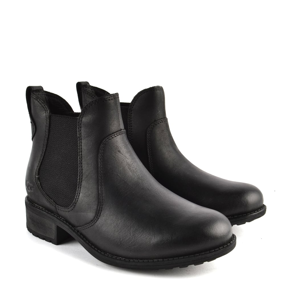 e2ae939c9b9 Bonham Black Leather Chelsea Boot