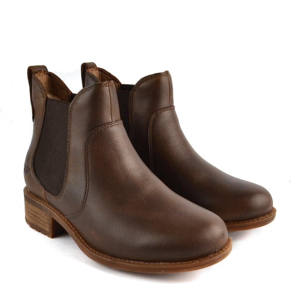 1628929fe75 UGG Bonham Stout 'Brown' Leather Chelsea Boot