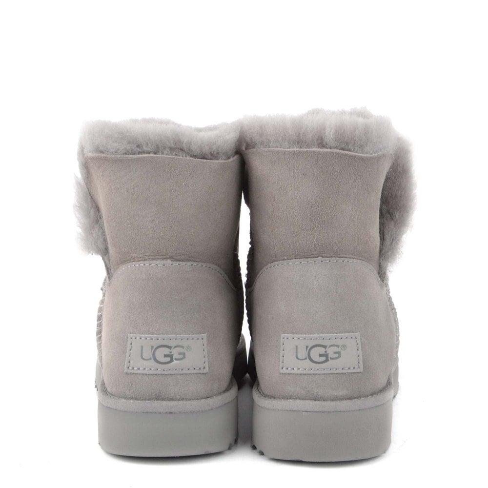 b3327d26325378 UGG Classic Cuff Mini Seal Suede Boot