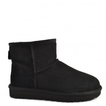 Classic Mini II Black Suede Boot