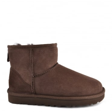Classic Mini II Chocolate Suede Boot