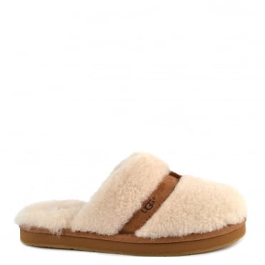 Dalla Natural Sheepskin Slipper
