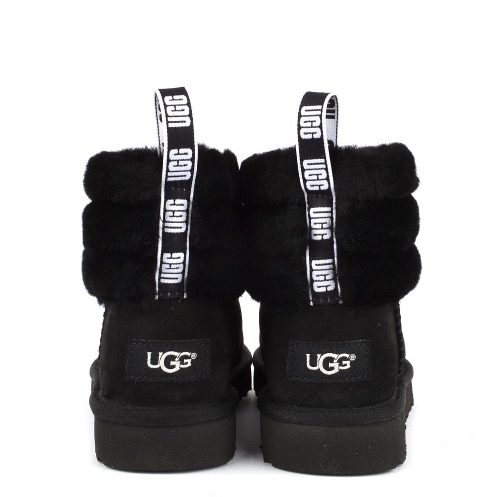 a3df2767601 Fluff Mini Quilted Black Logo Boot