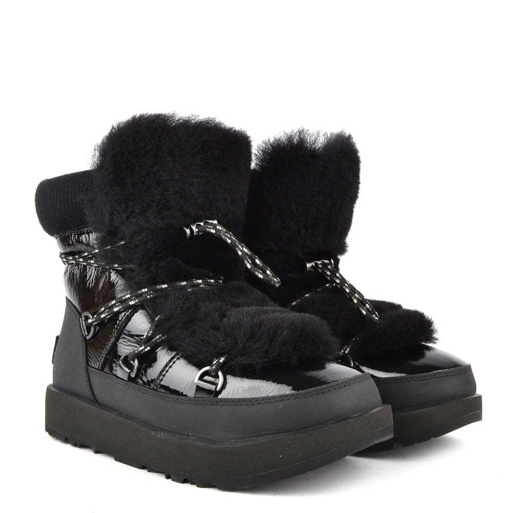 1582f90bceb Highland Black Waterproof Boot