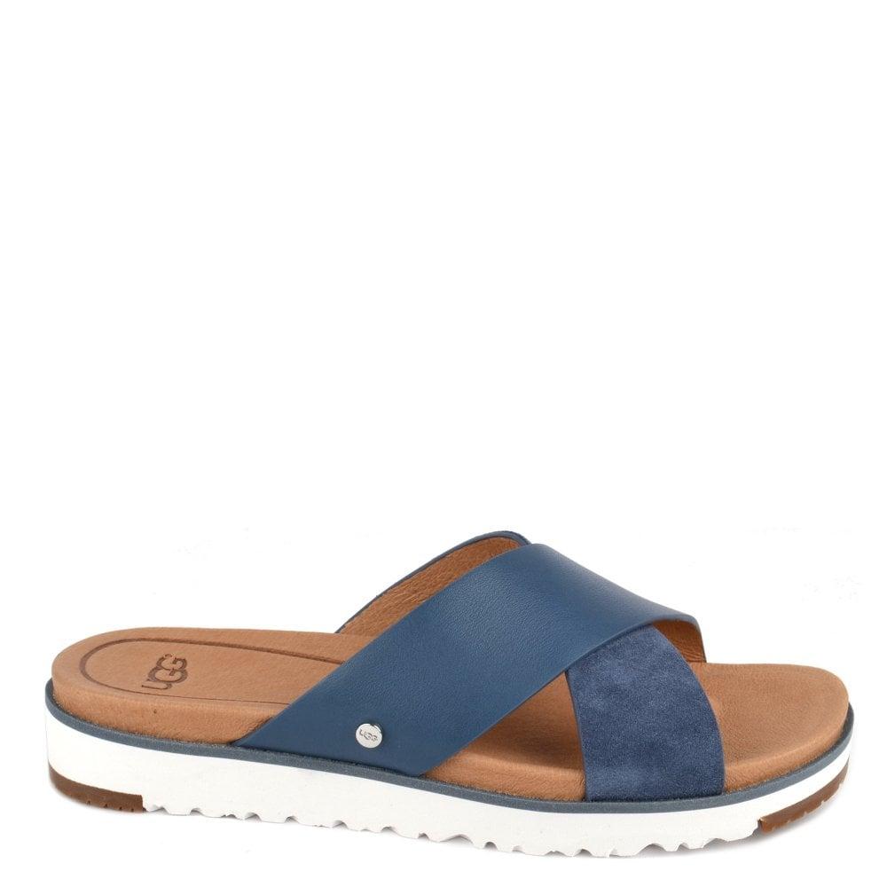4f35f5f94ffc UGG Kari Desert Blue Slide