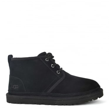 Mens' Neumel Black Suede Boot