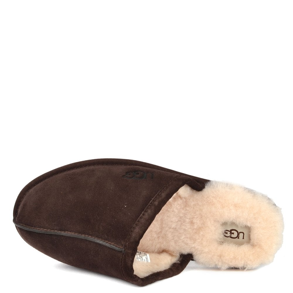 a23a7634d56 Discover From The Mens  Ugg Range The Scuff Espresso Suede Slippers