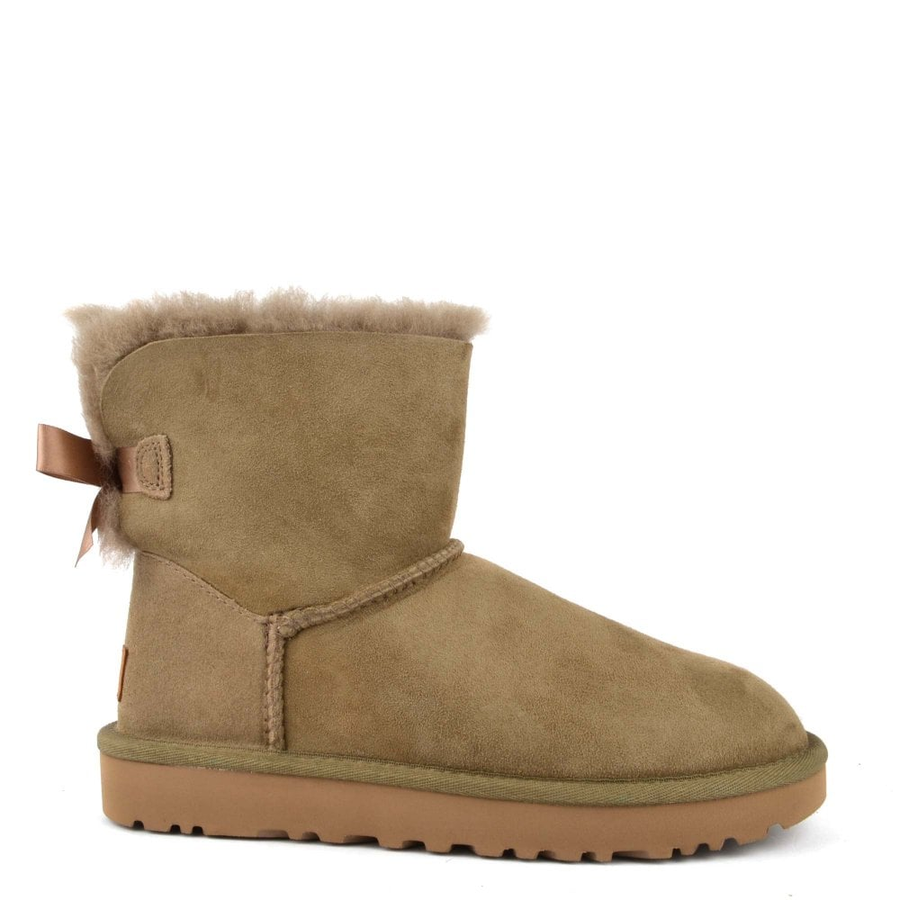 97d15b60c9a Mini Bailey Bow II Antilope Suede Boot