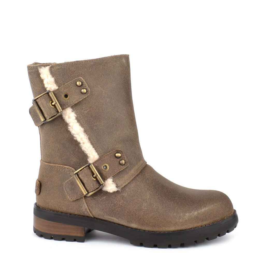 Shop The UGG Niels II Dove Leather