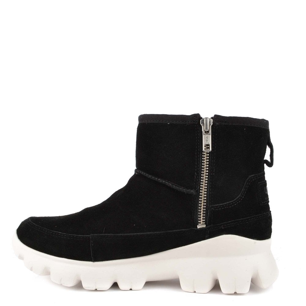 d785eb70e59 Palomar Black Suede Ankle Boot