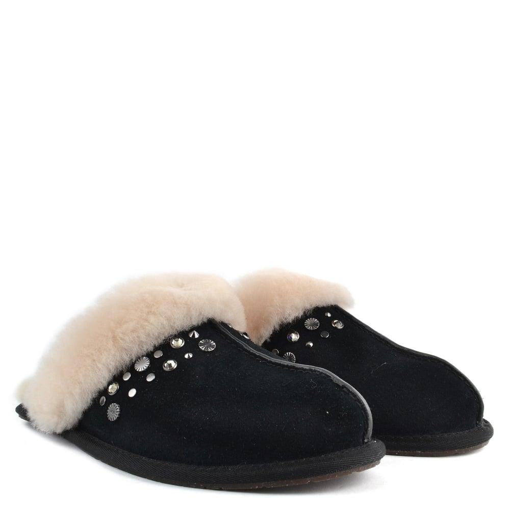 526ab69511d Scuffette II Black Studded Slipper