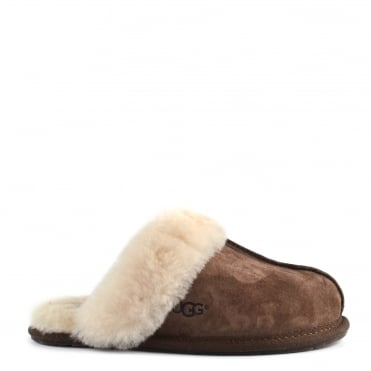 Scuffette II Espresso 'Dark Brown' Suede Slipper