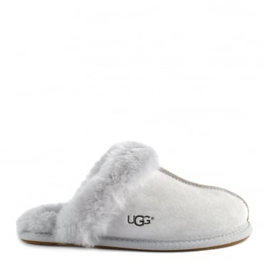 Scuffette II Grey Suede Slipper