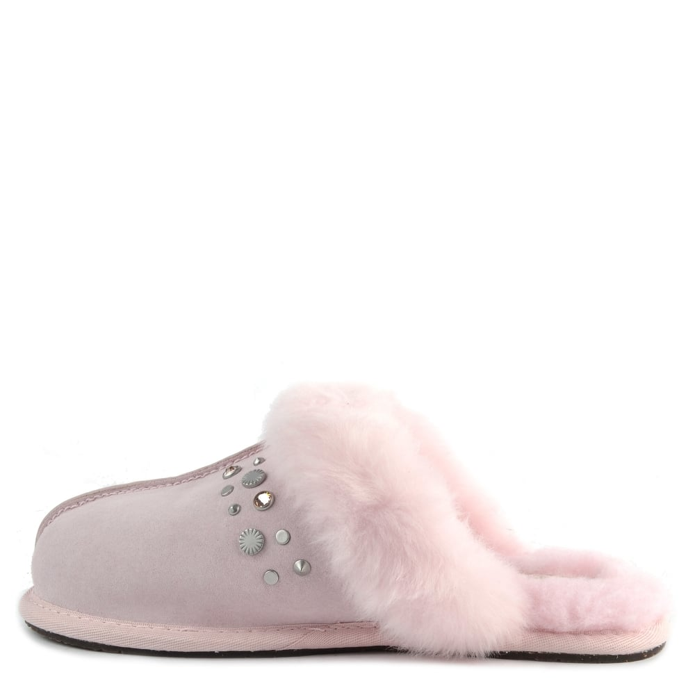 a754d969faf UGG Scuffette II Seashell Pink Bling Studded Slipper