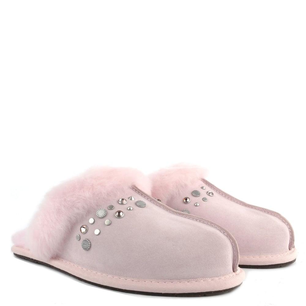 bd8f1ad8d9db UGG Scuffette II Seashell Pink Bling Studded Slipper