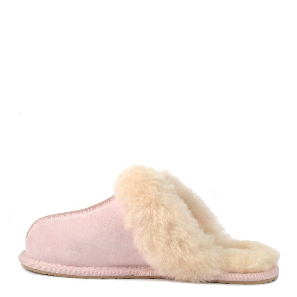 ad14143e76a Scuffette II Seashell Pink Suede Slipper