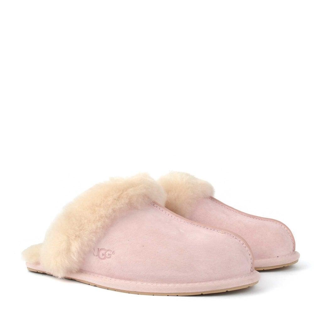18314b4b709 Scuffette II Seashell Pink Suede Slipper